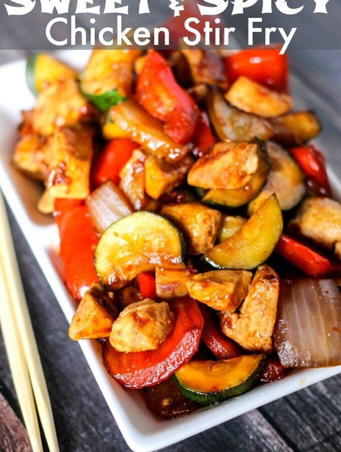 how to make a simple chicken stir fry sauce