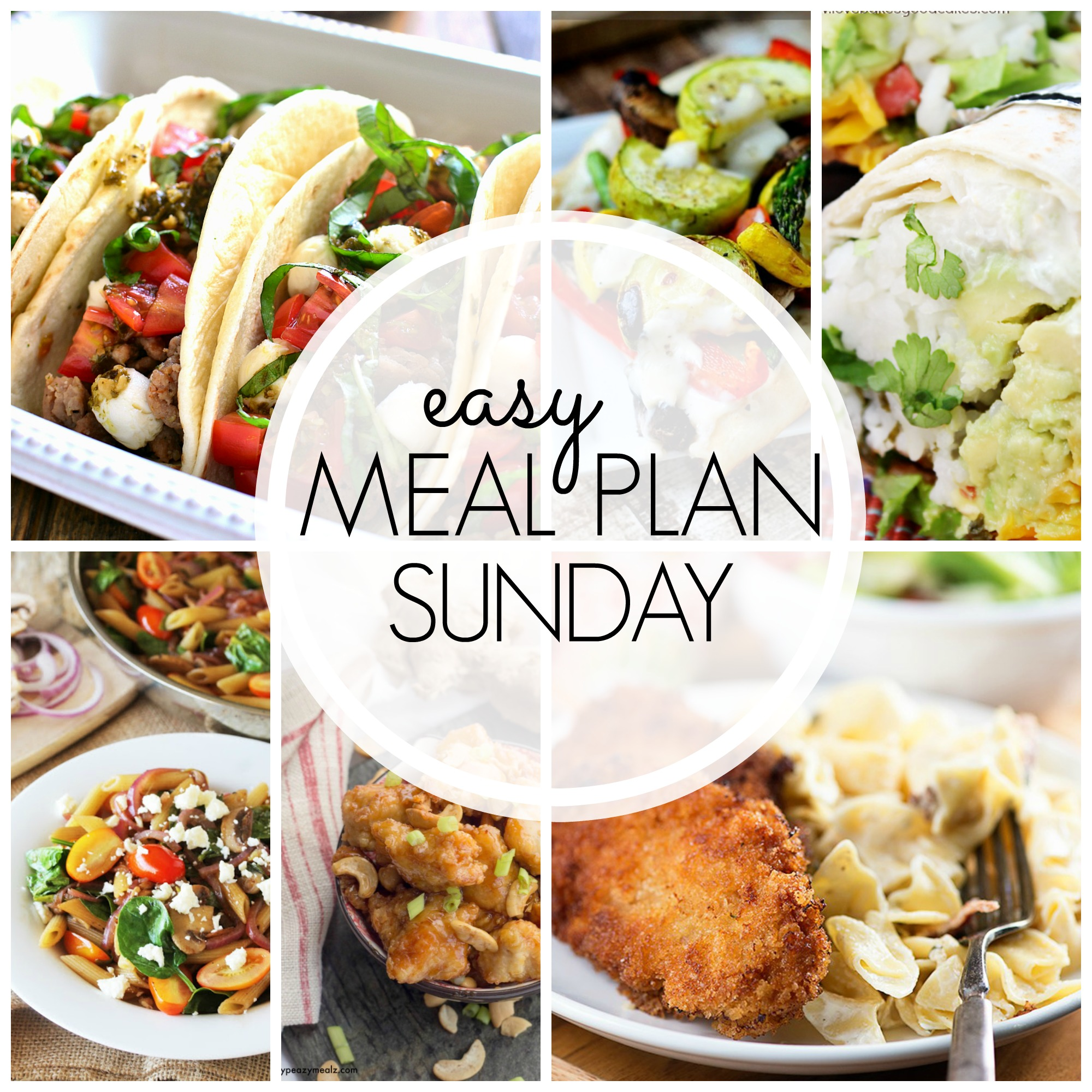 EASY MEAL PLAN – Week 47 - 7 delicious dinners and 2 desserts!