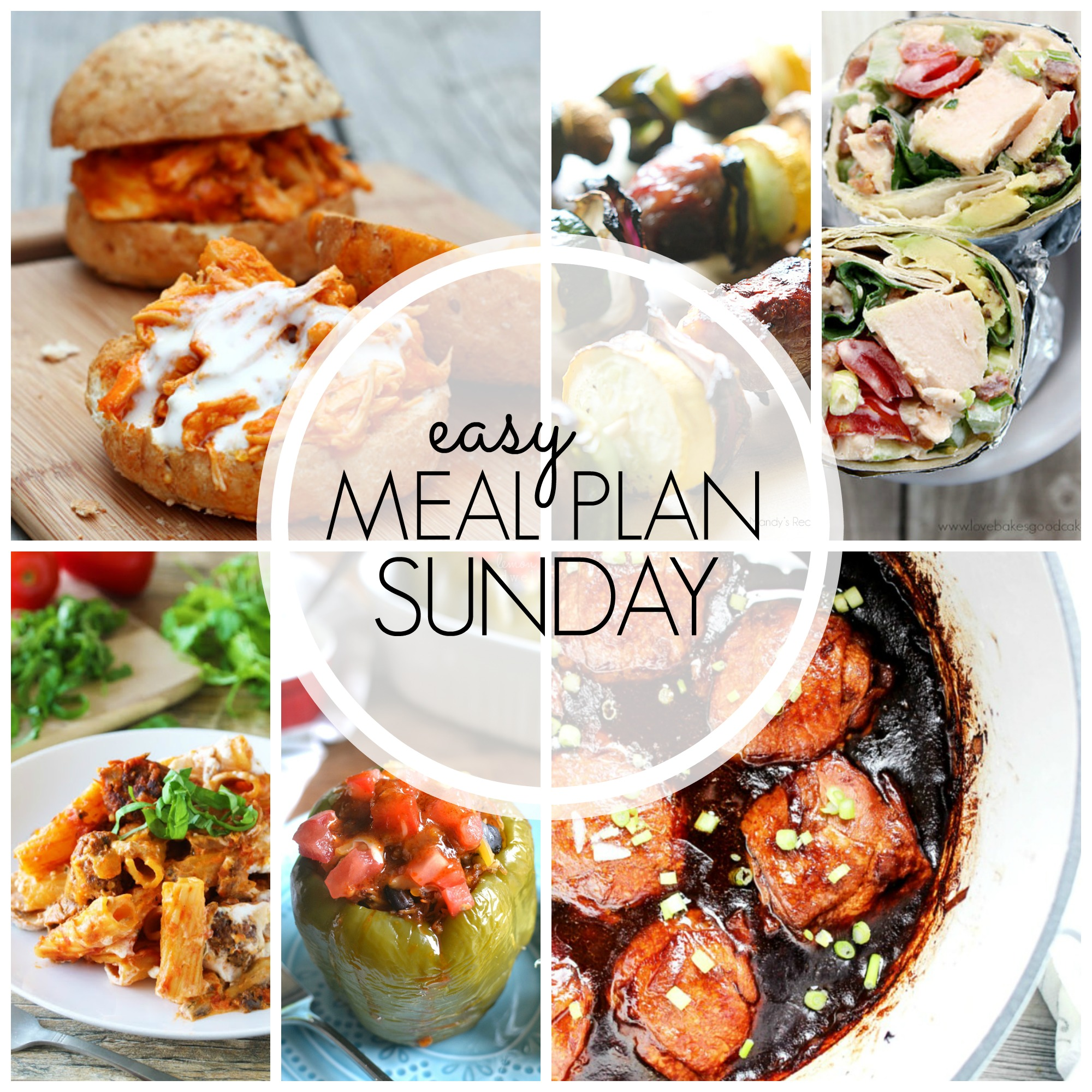 EASY MEAL PLAN – Week 49 - 7 delicious dinners and 2 desserts!