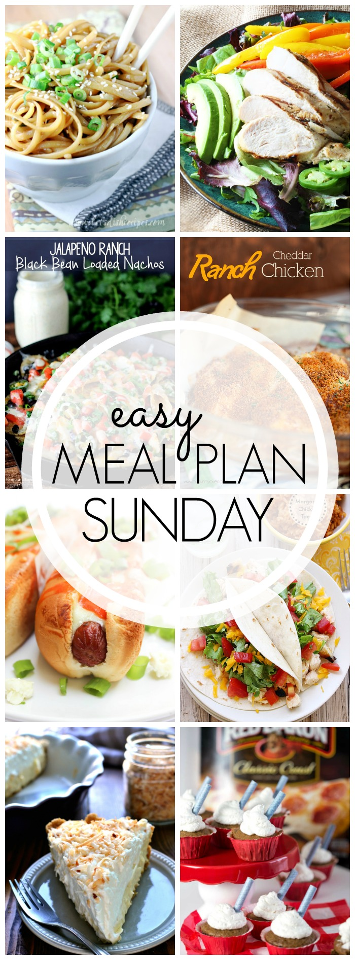 EASY MEAL PLAN – Week 46 - 7 delicious dinners and 2 desserts!