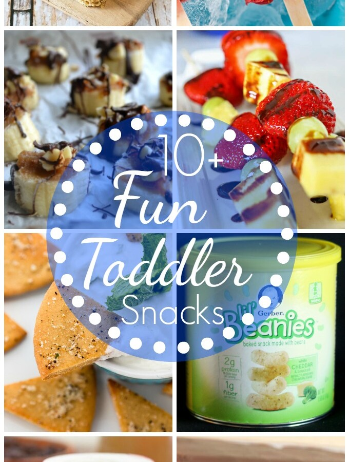 10+ Fun Toddler Snacking Ideas