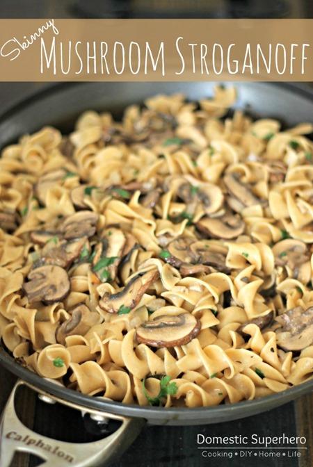 Skinny Mushroom Stroganoff (3)