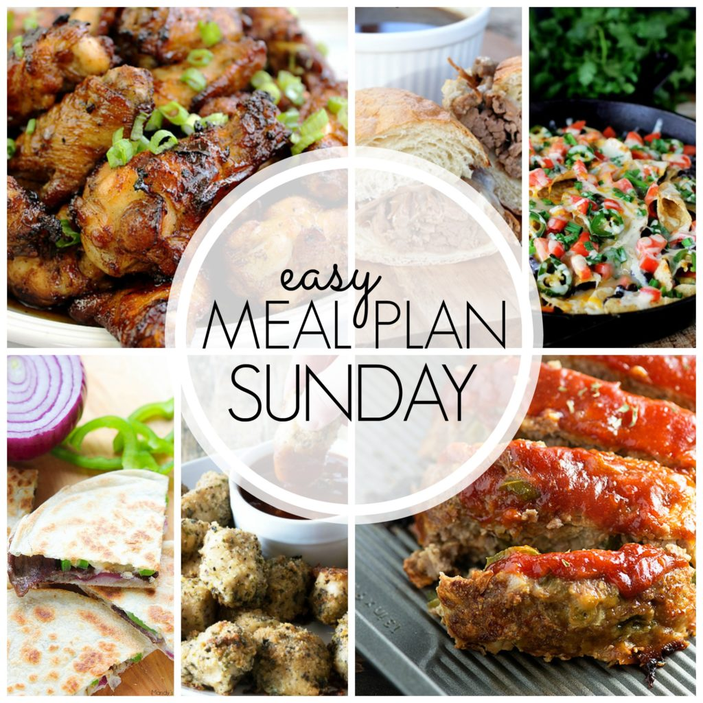 EASY MEAL PLAN – Week 52 - 7 delicious dinners and 2 desserts!