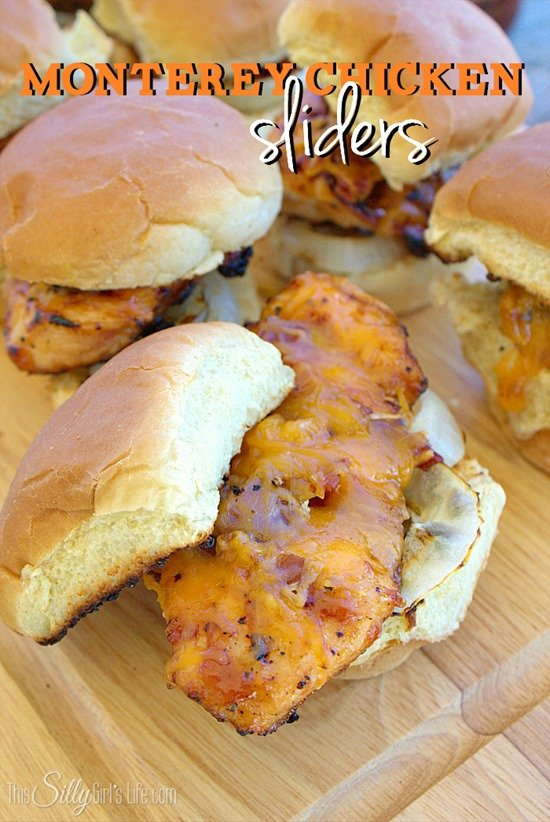 Monterey Chicken Sliders