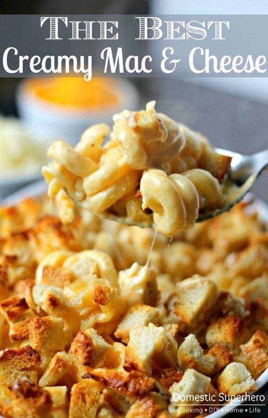 The Best Creamy Mac & Cheese