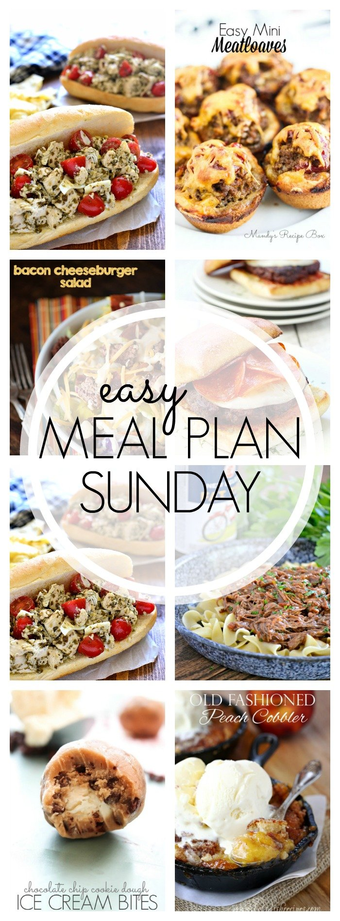 EASY MEAL PLAN – Week 57 - 7 delicious dinners and 2 desserts!