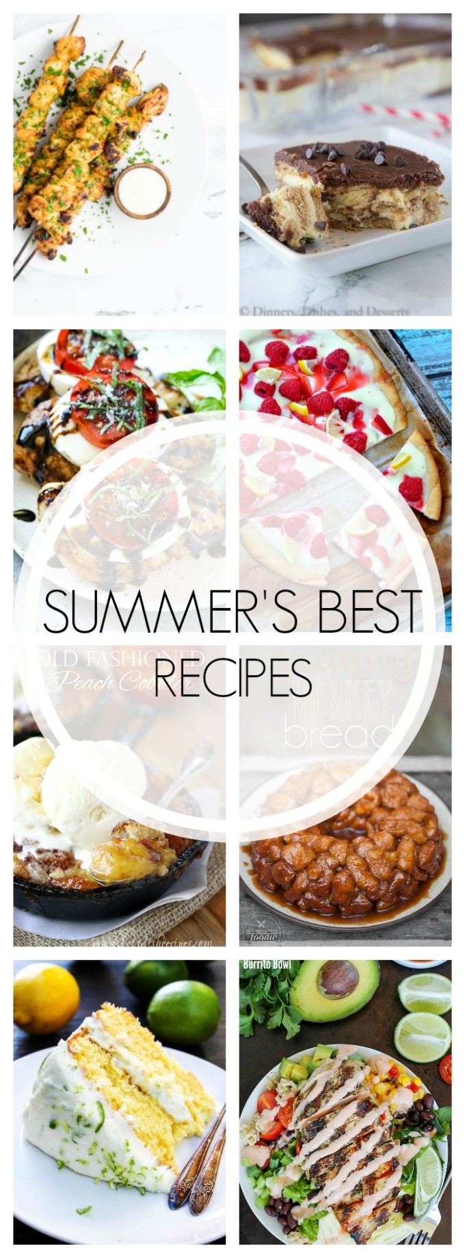 23 of Summer's BEST Recipes - everything from dinner to dessert!
