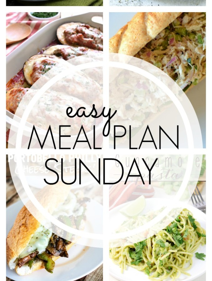 EASY MEAL PLAN – Week 60 - 7 delicious dinners and 2 desserts!