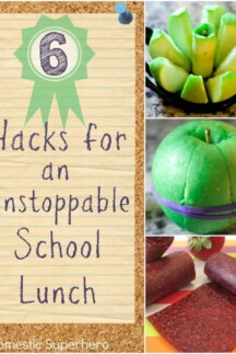 6 Hacks for an Unstoppable School Lunch