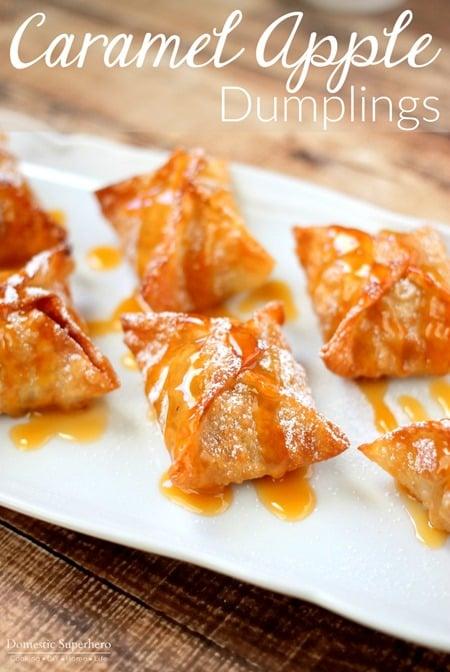 Caramel Apple Dumplings 1