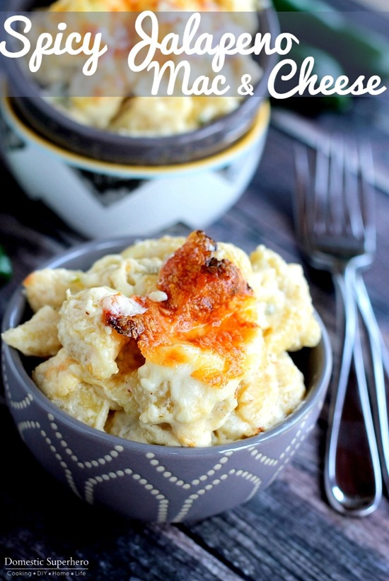 Spicy Jalapeno Mac & Cheese