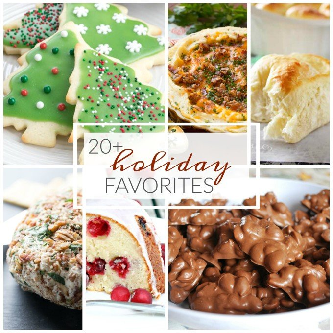 20+ Holiday Favorites - These holiday recipes are perfect for entertaining or cozying up at home!