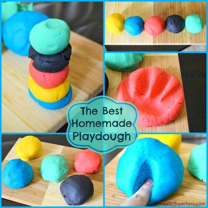 Homemade Playdough 3