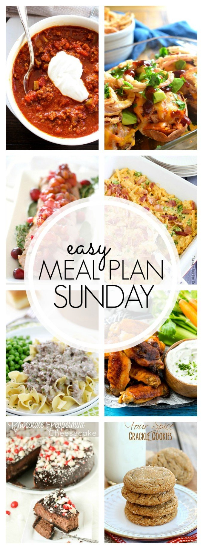 EASY MEAL PLAN – Week 78 - 7 delicious dinners and 2 desserts!