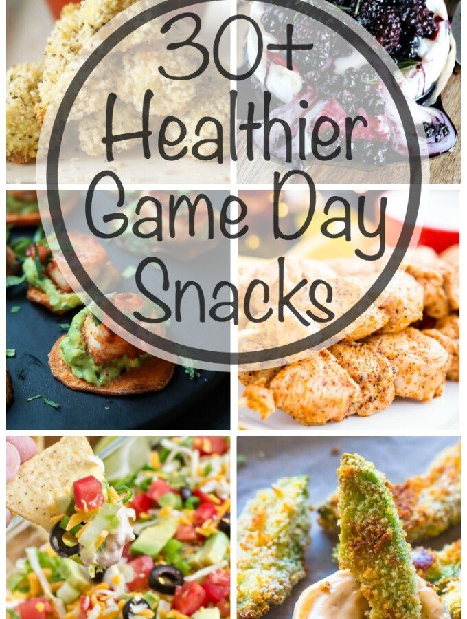 Healthier Game Day Snacks
