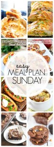 EASY MEAL PLAN – Week 79 - 7 delicious dinners and 2 desserts!