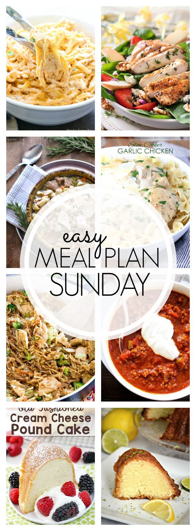 EASY MEAL PLAN – Week 82 - 7 delicious dinners and 2 desserts!