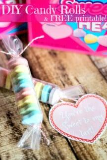 DIY SweetTart Candies & FREE Printable