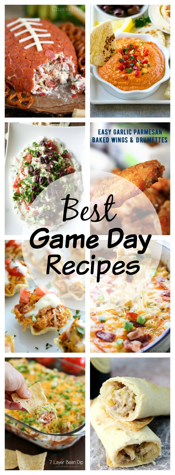 Last Minute Game Day Recipes - didn't plan anything, don't worry! Here are the BEST game Day Recipes that can be made at the last minute!