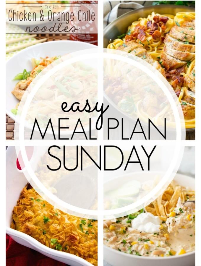 EASY MEAL PLAN – Week 87