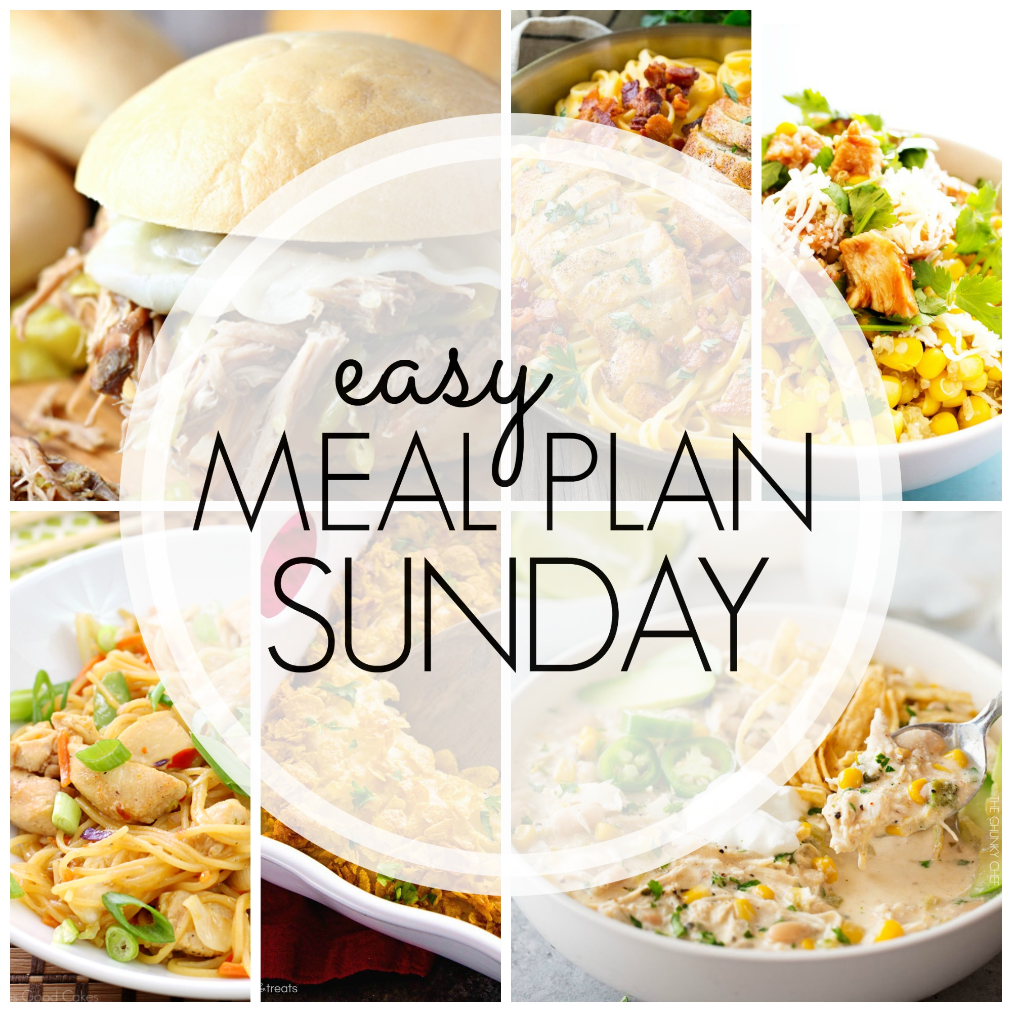 EASY MEAL PLAN – Week 87 - 7 delicious dinners and 2 desserts!