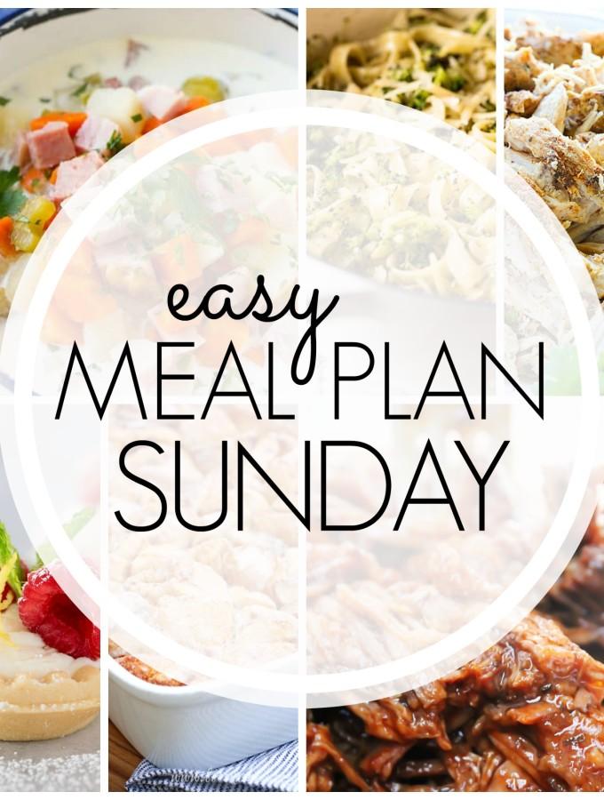 EASY MEAL PLAN – Week 89