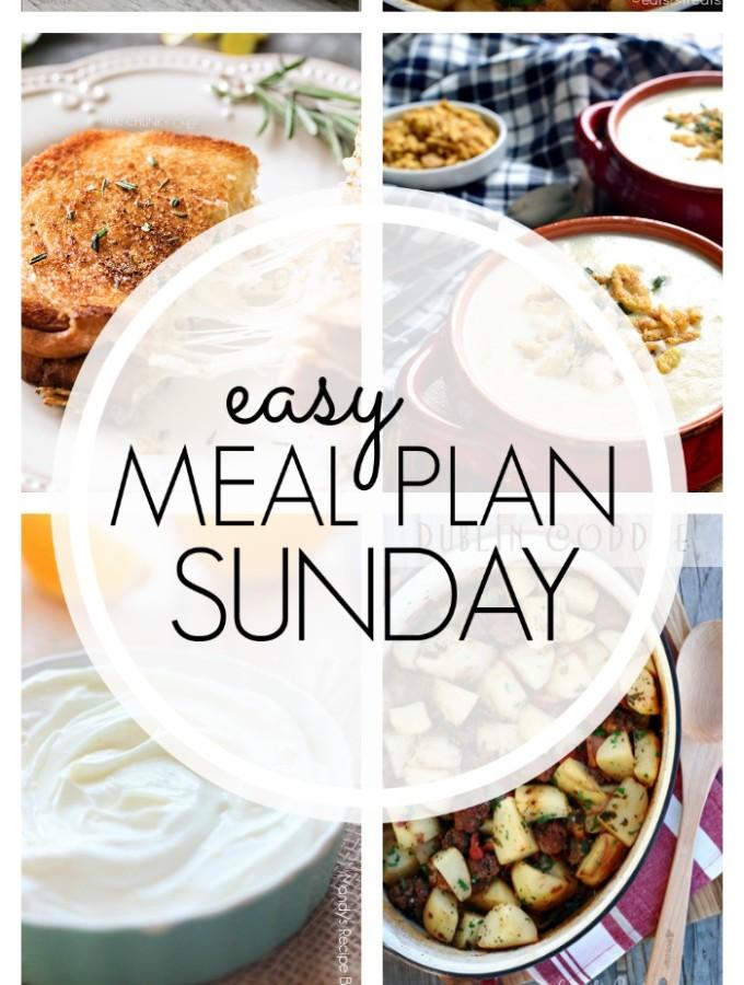 EASY MEAL PLAN – Week 90