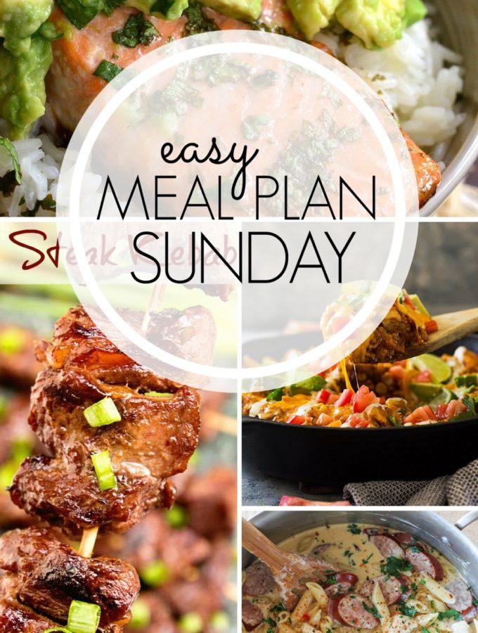 EASY MEAL PLAN – Week 96