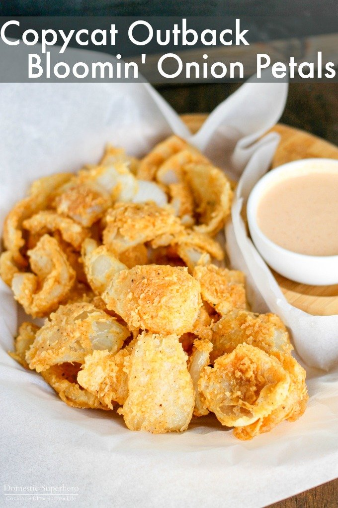 Outback Bloomin' Onion Petals taste just like the popular recipe! Pair them with the Bloom Sauce and everyone will be begging for more!