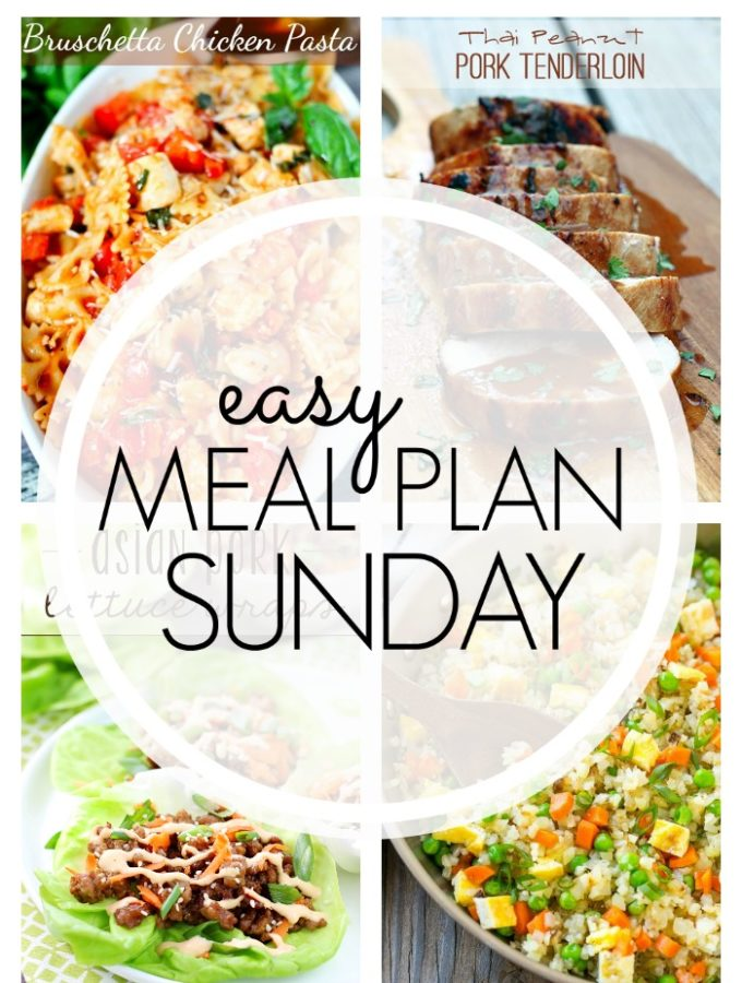 EASY MEAL PLAN – Week 92