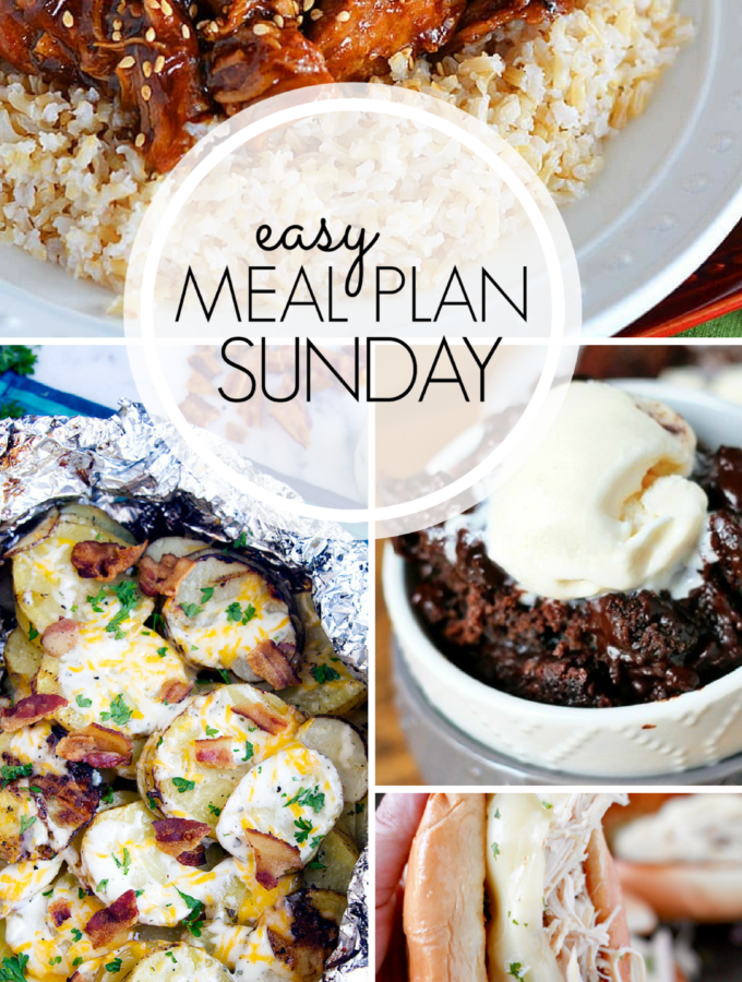 EASY MEAL PLAN – Week 99