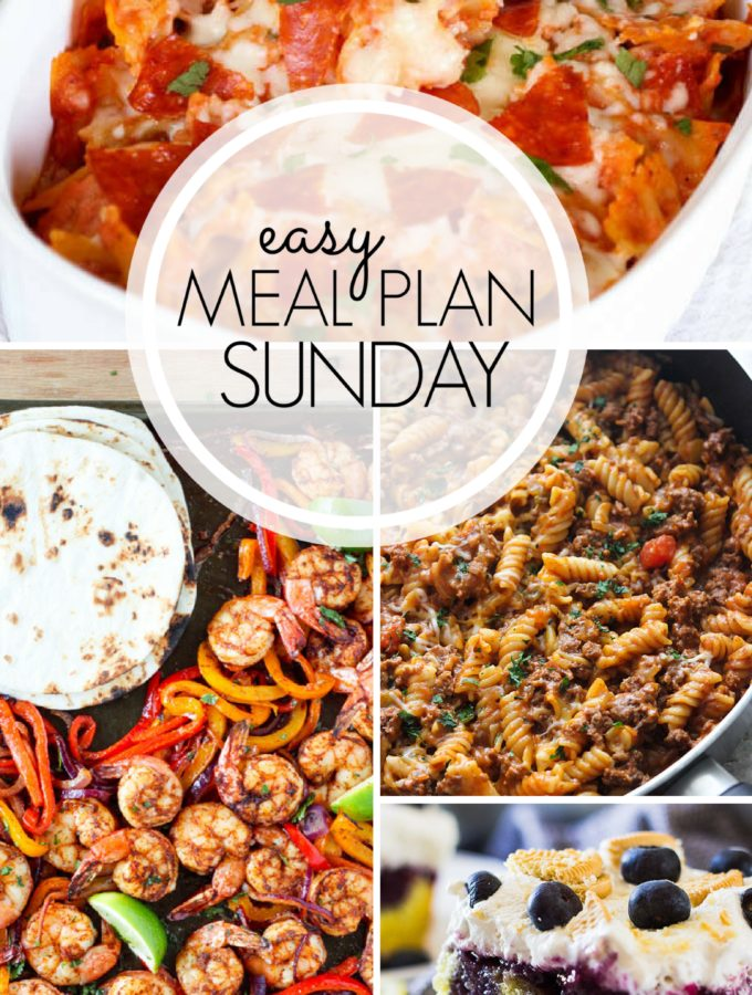 EASY MEAL PLAN – Week 100