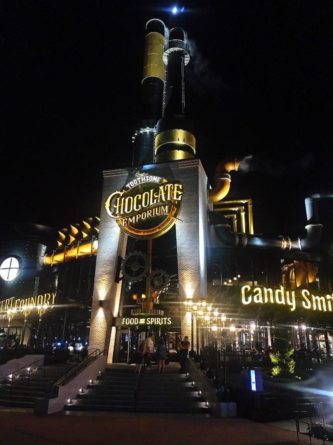 Toothsome Chocolate Emporium Restaurant Universal Studios