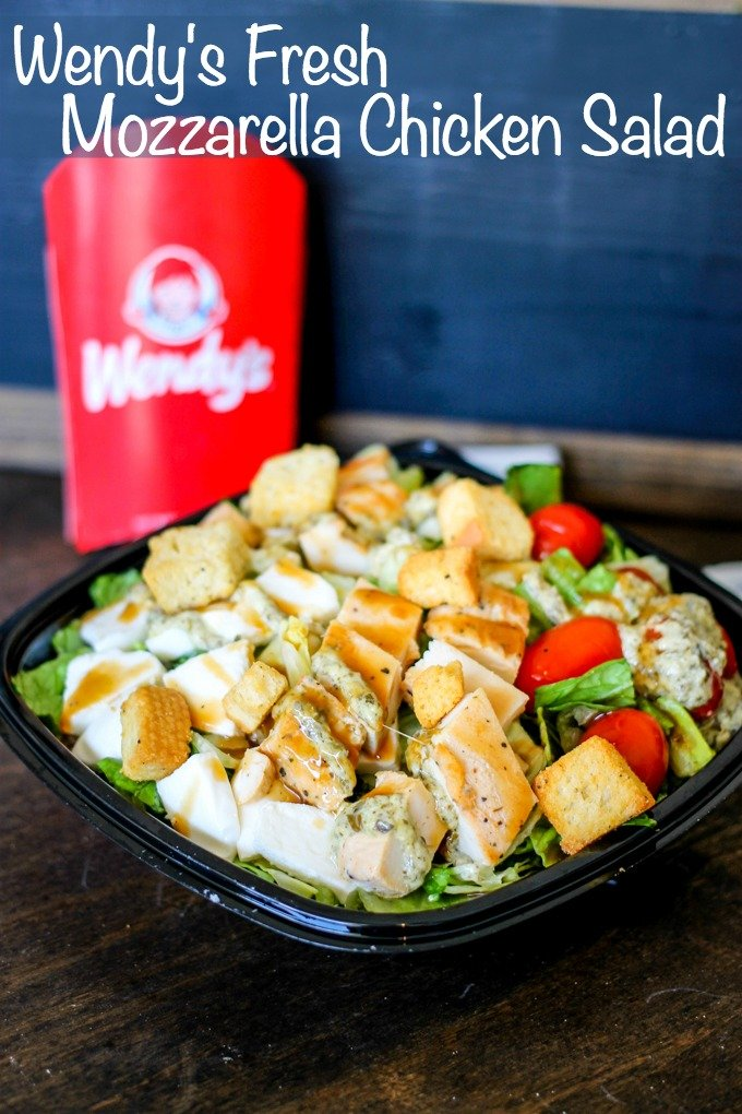 Wendy 39 s fresh mozzarella chicken salad domestic superhero for Does wendy s have a fish sandwich