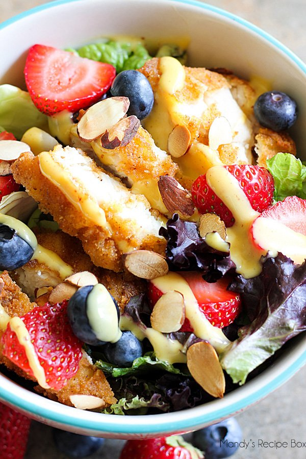 Berry Chicken Salad - The Best Summer Salad Recipes!