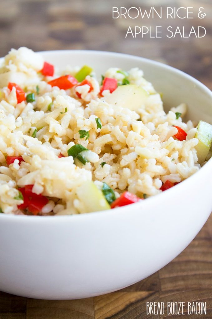 Brown Rice & Apple Salad- The Best Summer Salad Recipes!