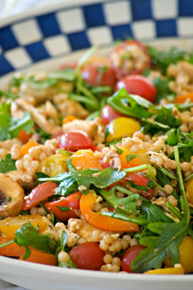Couscous Chicken Salad - The Best Summer Salad Recipes!