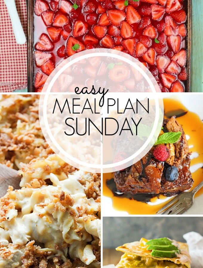 EASY MEAL PLAN – Week 104