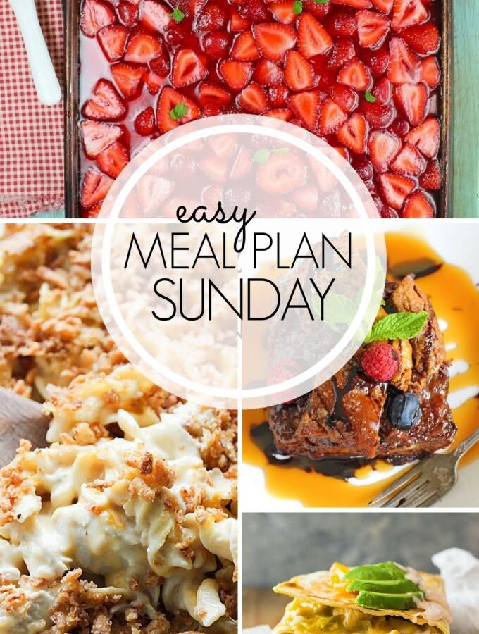 EASY MEAL PLAN – Week 104