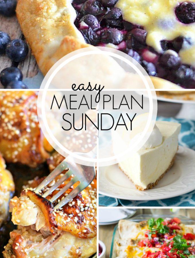 EASY MEAL PLAN – Week 103