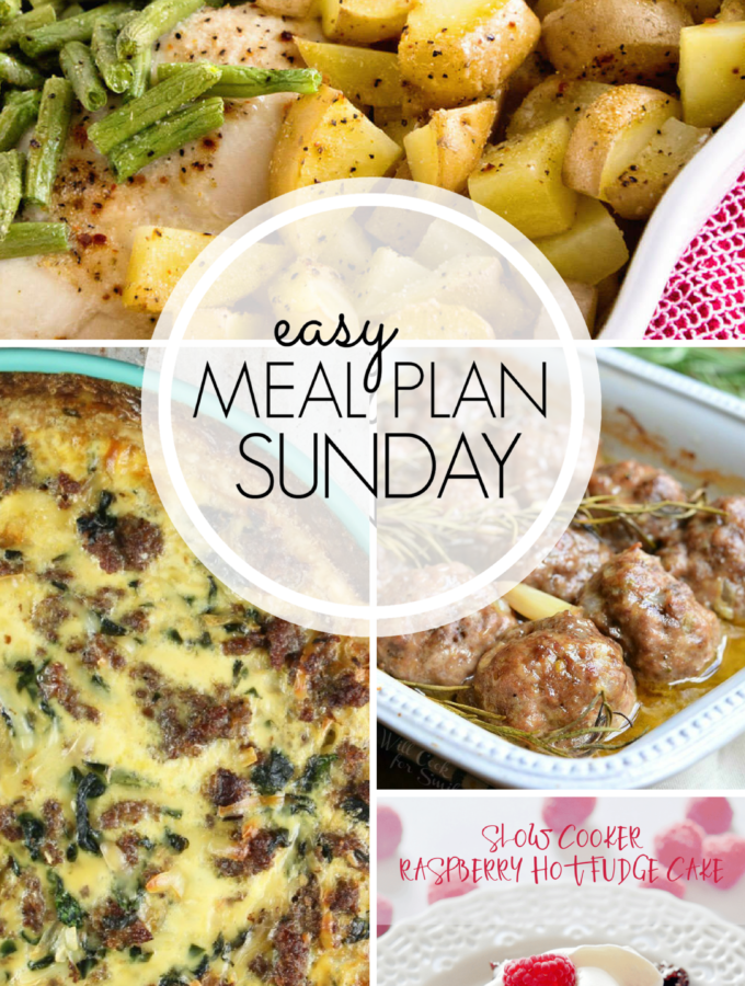 EASY MEAL PLAN – Week 102