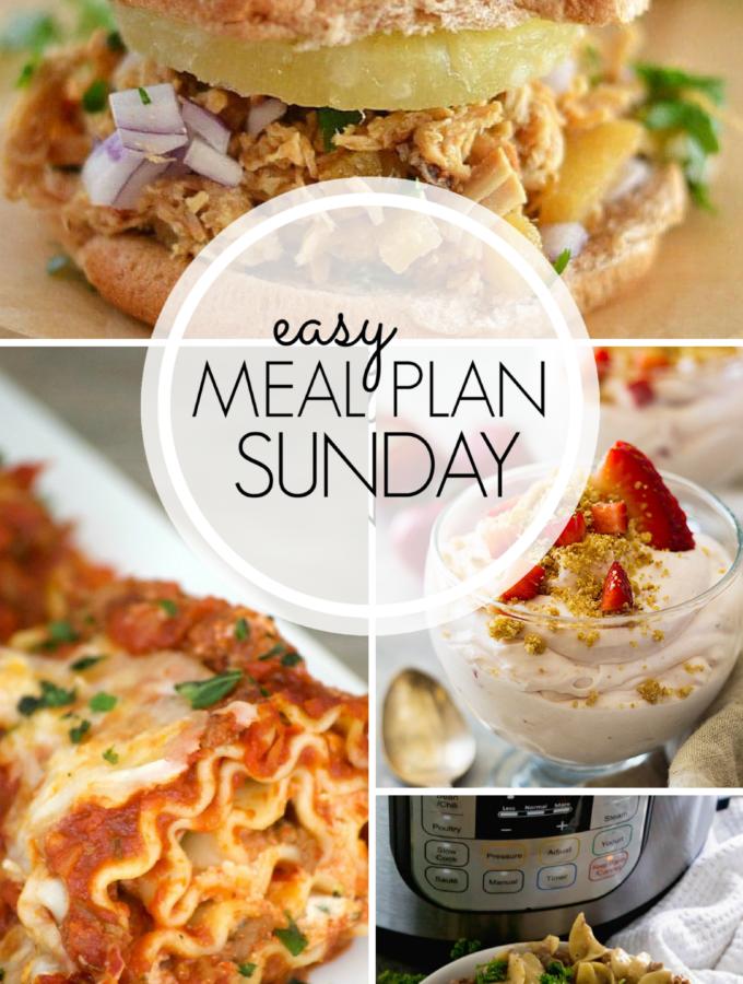 EASY MEAL PLAN – Week 101