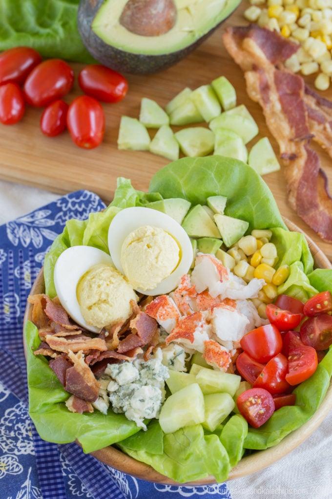 Lobster Cobb Salad - The Best Summer Salad Recipes!