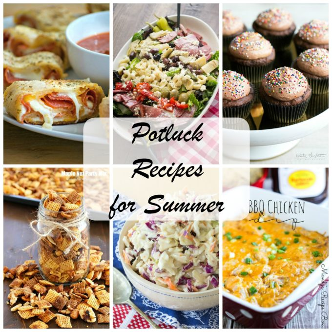 30 Side Dishes And Desserts To Try: BEST Summer Potluck Recipes • Domestic Superhero