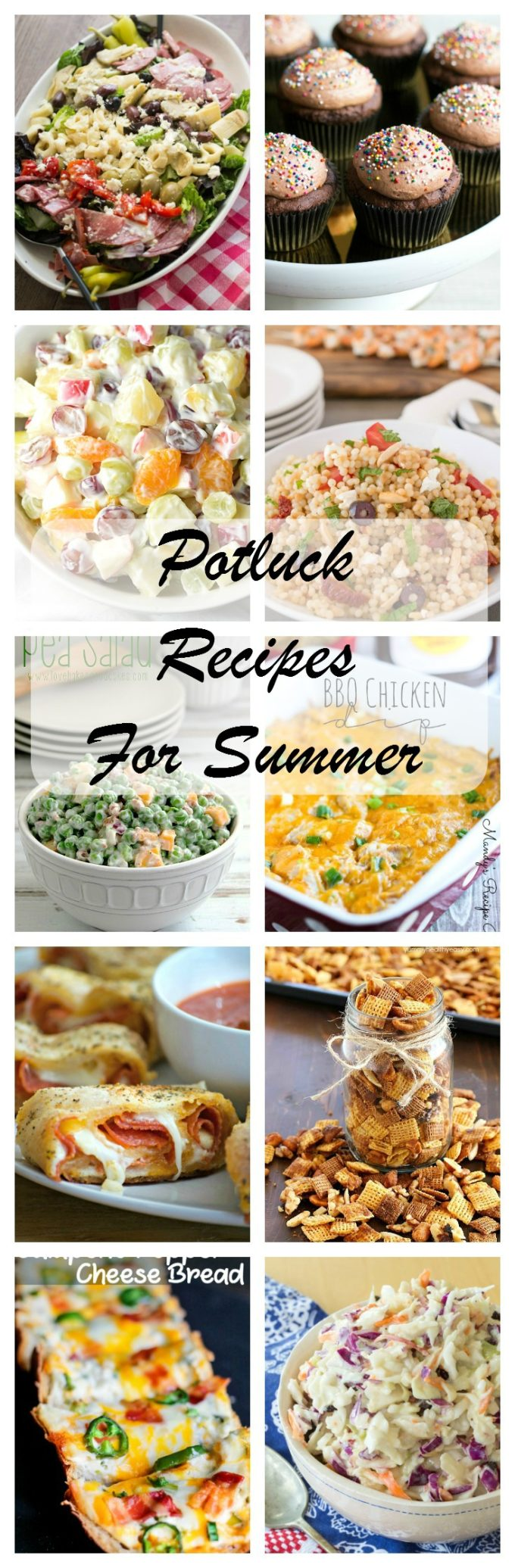 The BEST Summer Potluck recipes are all here for you to enjoy! Summer food is the best, and there's tons of new recipes to try!