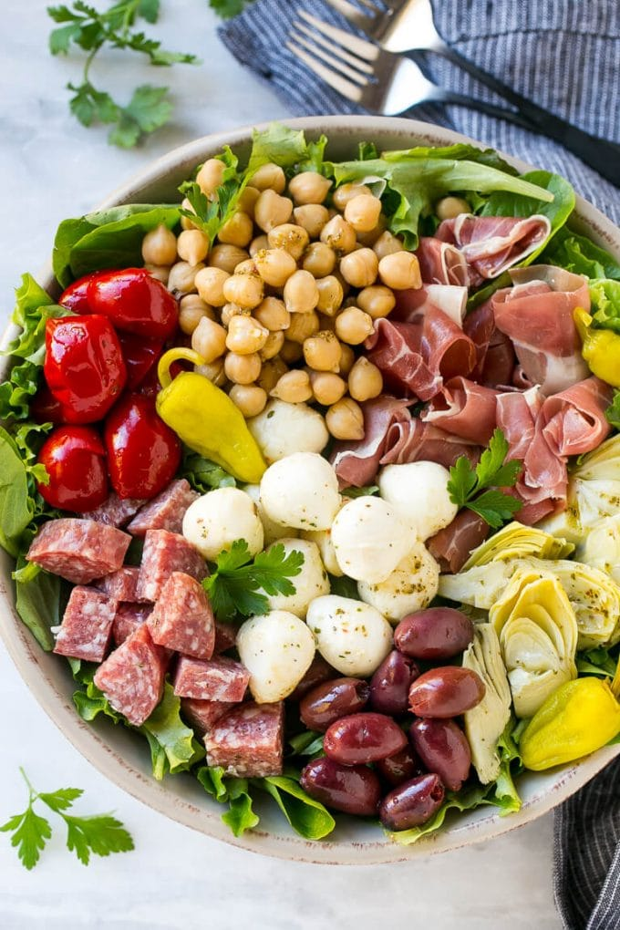 Antipasto Salad - The Best Summer Salad Recipes!