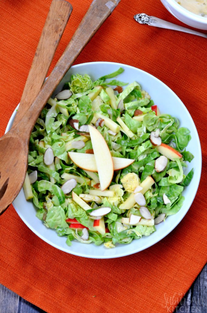 Shaved Brussels Sprouts Salad - The Best Summer Salad Recipes!