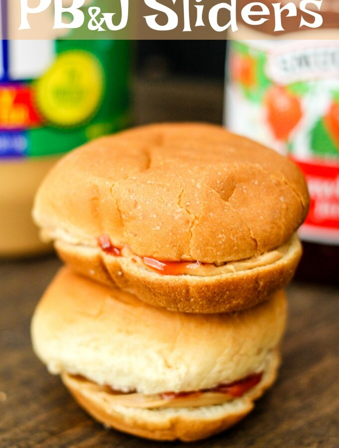Peanut Butter & Jelly Sliders