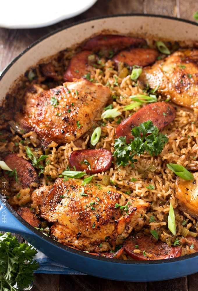 One Pot Chicken and Dirty Rice - 13+ Best Ever One Pan Meals!