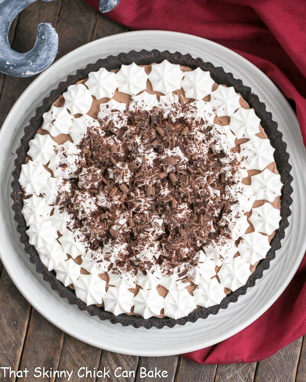French Silk Tart - 15+ of the Best Thanksgiving Desserts!